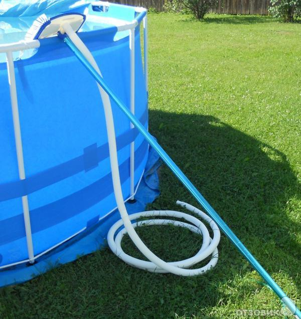 Как установить пластиковый бассейн на даче своими руками 78