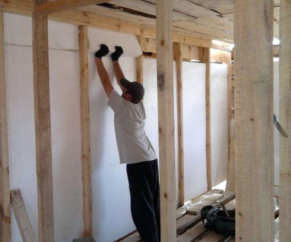 Как и чем утеплить веранду в деревянном доме своими руками