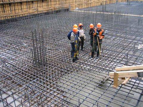 заливка бетоном монолит материки и диаметр арматуры термобельем