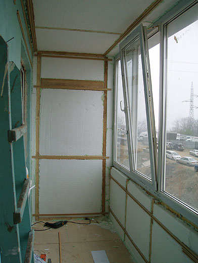 Как утеплить балкон своими руками в панельном 337