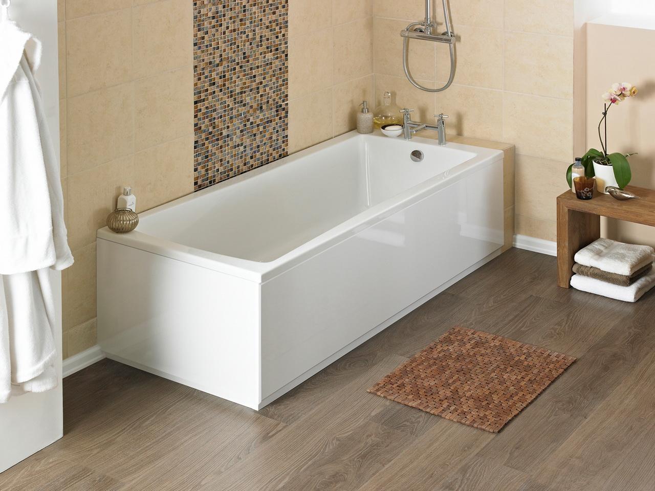 высота панели акриловой ванны