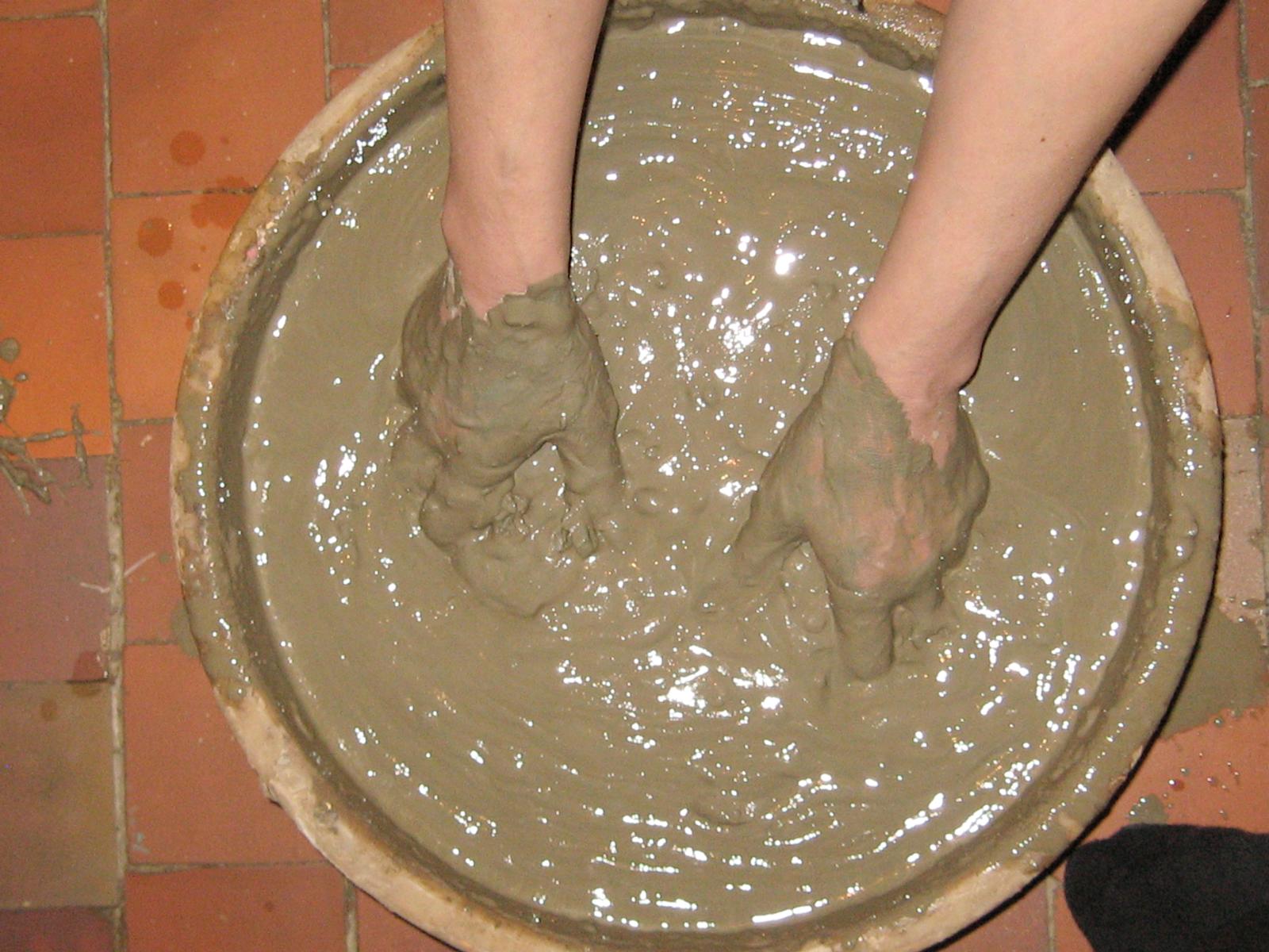 Приготовление глины в домашних условиях