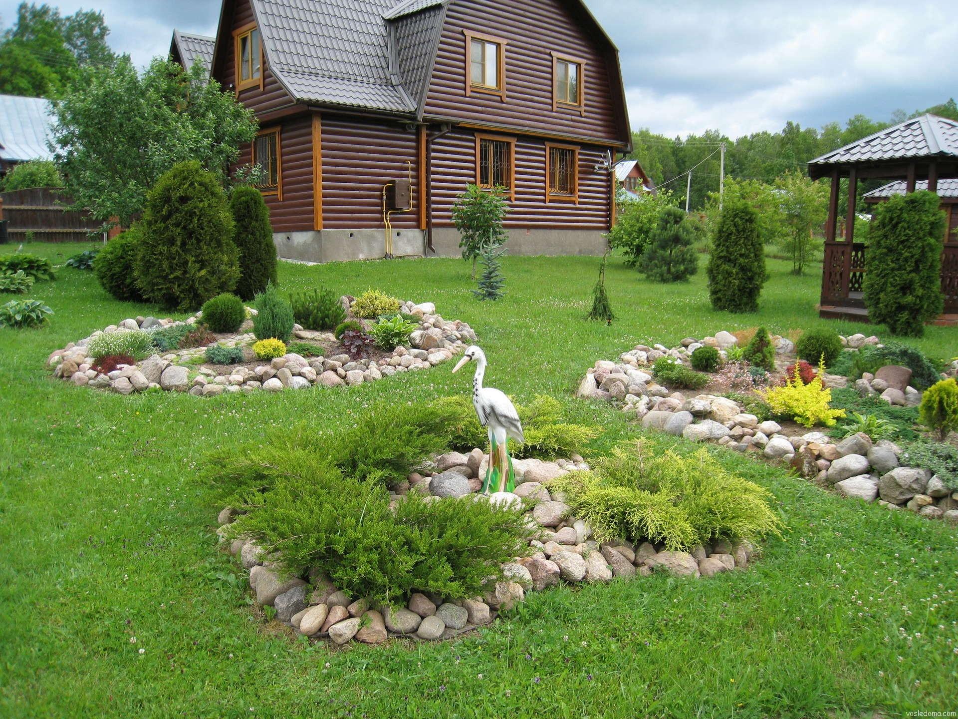 Красивый садовый участок своими руками фото 25