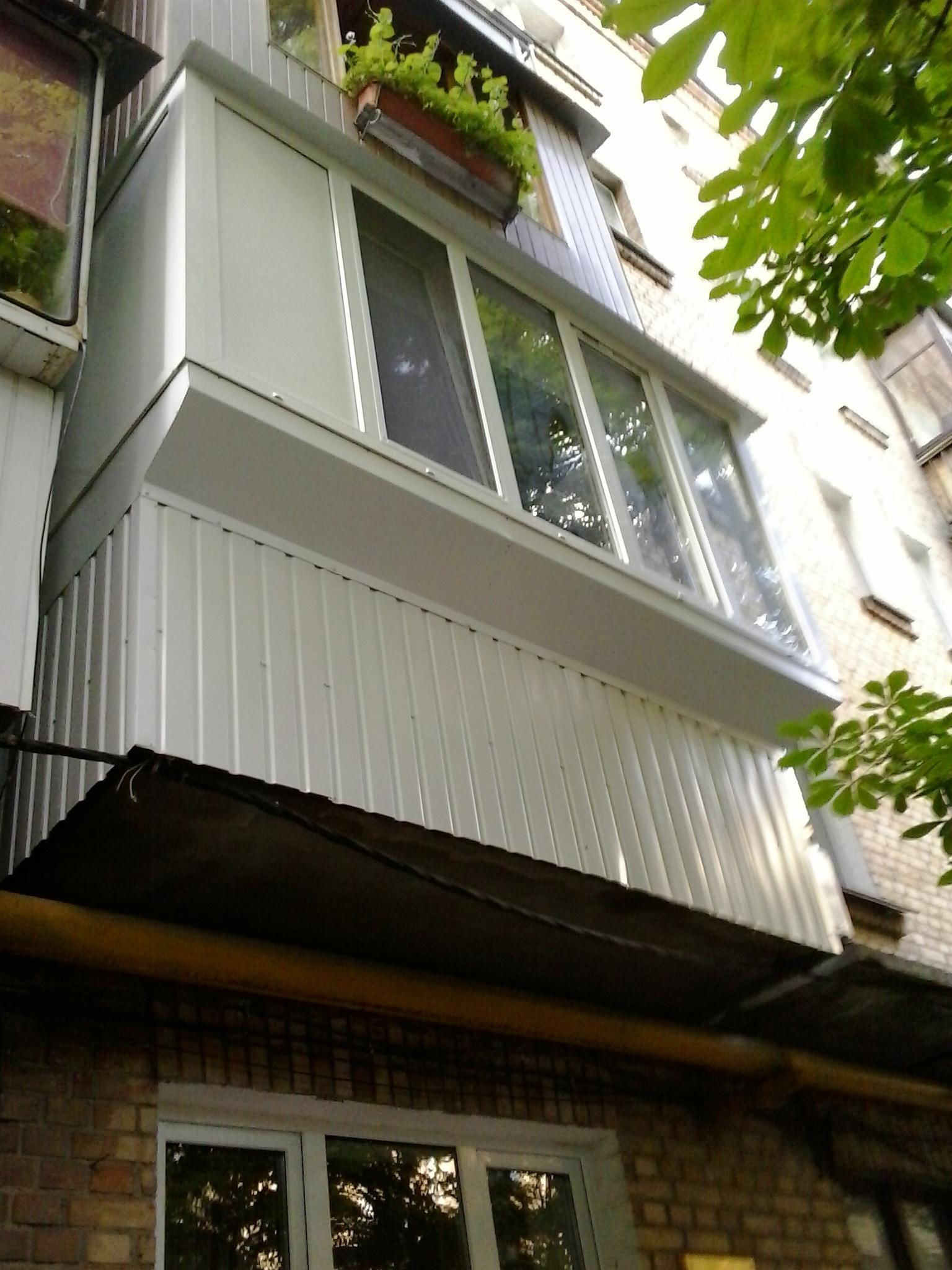 Наружная отделка балкона или лоджии своими руками..