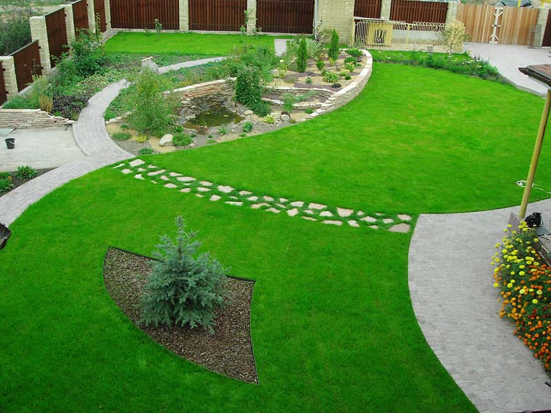 Как можно сделать газон своими руками
