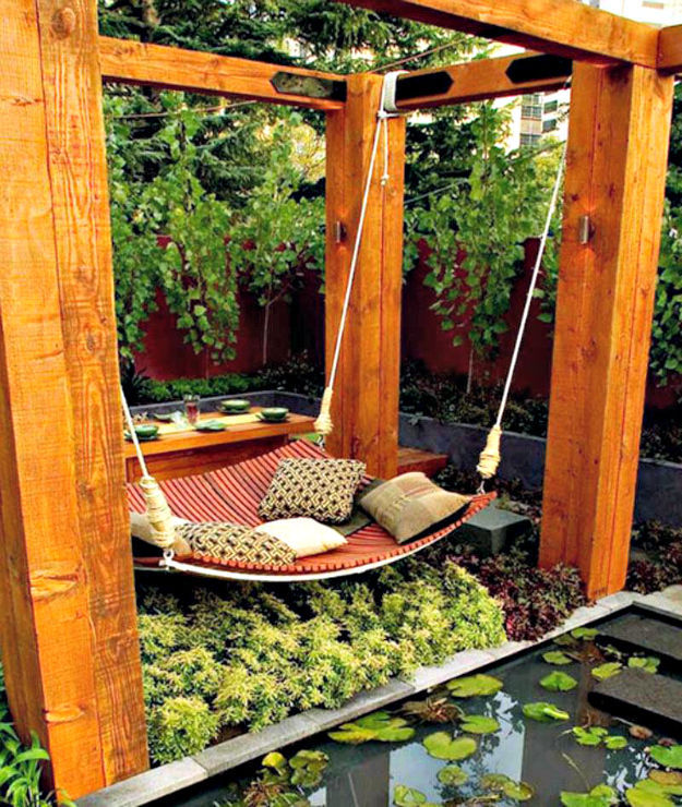Идеи беседки для дачи и сада своими руками фото