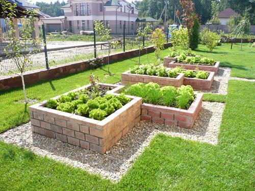 Декоративный огород своими руками фото