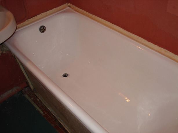 Покраска ванной эмалью своими руками