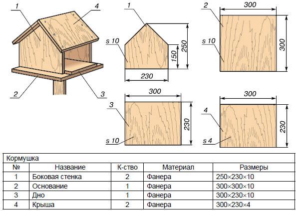 Схемы поделок из дерева 38