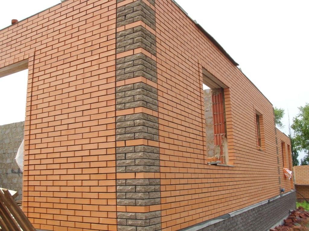 Имитация кирпичной стены своими руками - Все о фасаде его