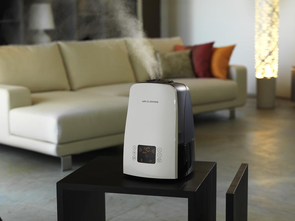 Где разместить увлажнитель воздуха в комнате