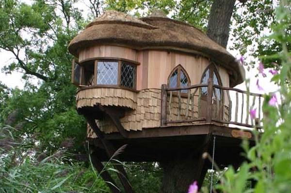 Дом на дереве маленький