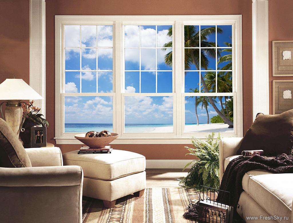 Как сделать фальш-окно. фальш-окно своими руками.