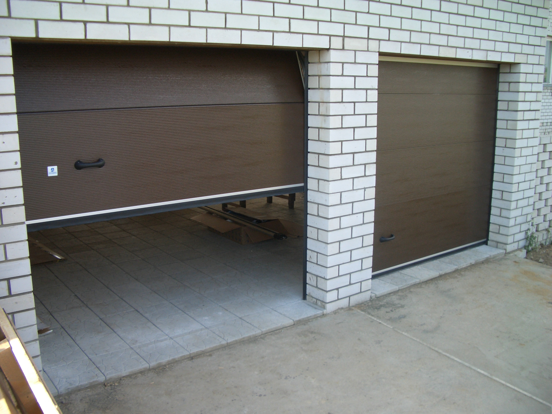 Рулонные гаражные сам своими руками