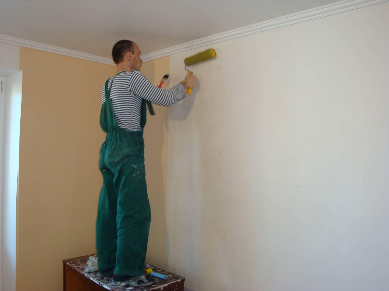 Как шпаклевать стены своими руками под покраску фото 780