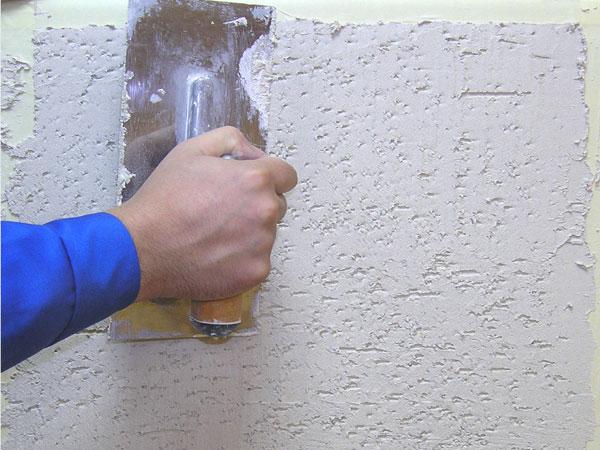 Ремонт штукатурки внутренних стен. технология ремонта штукат.