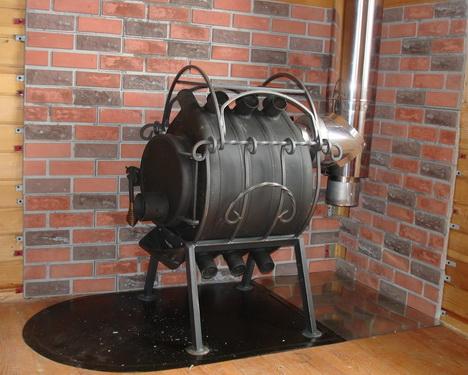 Эффективная печь для гаража