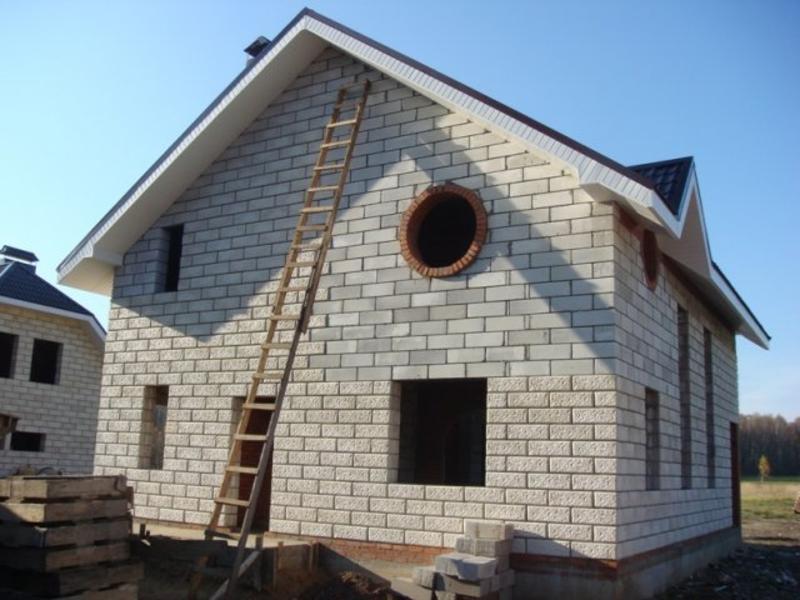 Построить дом своими руками стоимость пеноблок