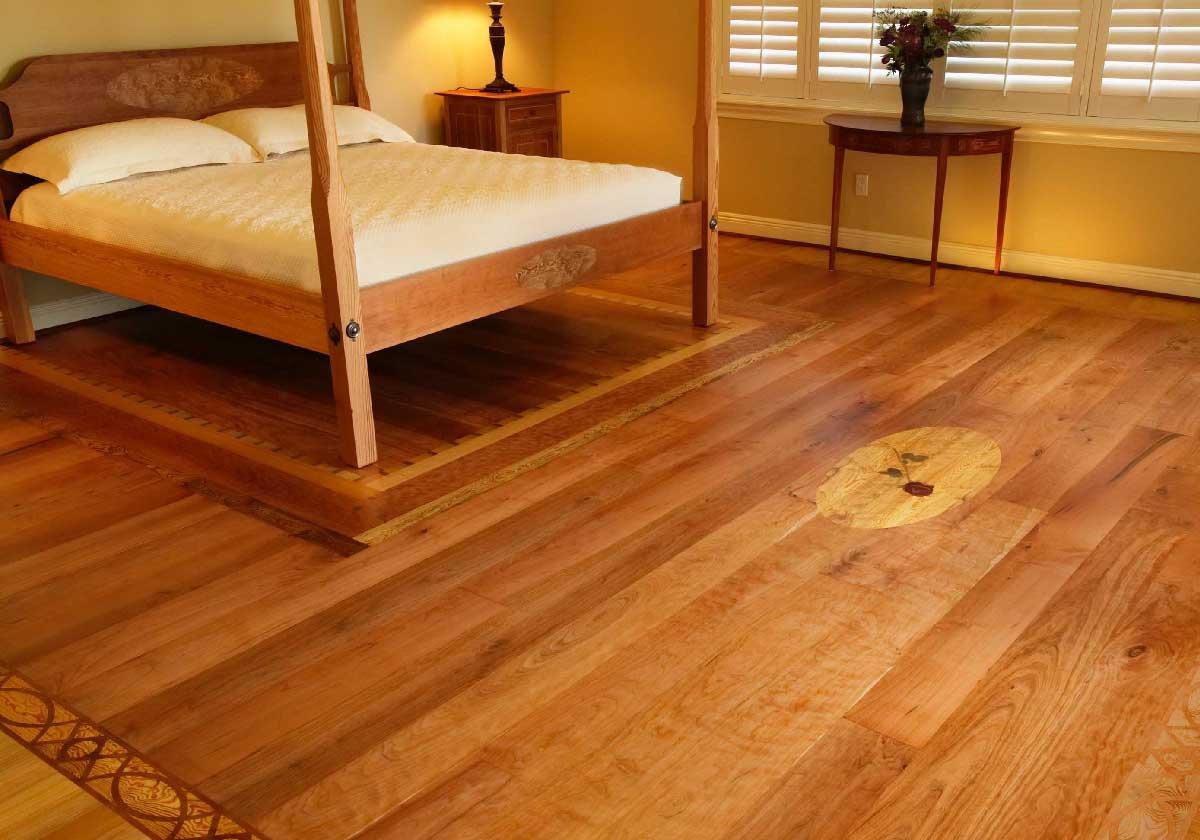 Деревянный пол в квартире фото