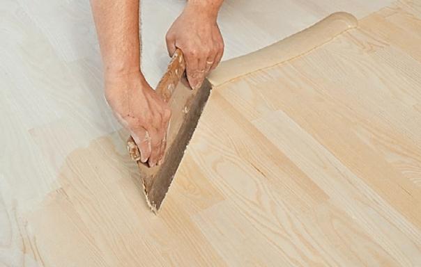 Шпаклевание деревянного пола своими руками