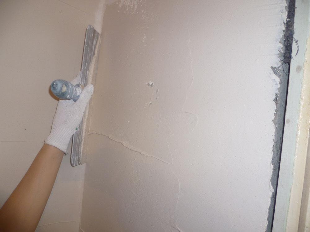 Шпаклёвка для стен под обои своими руками