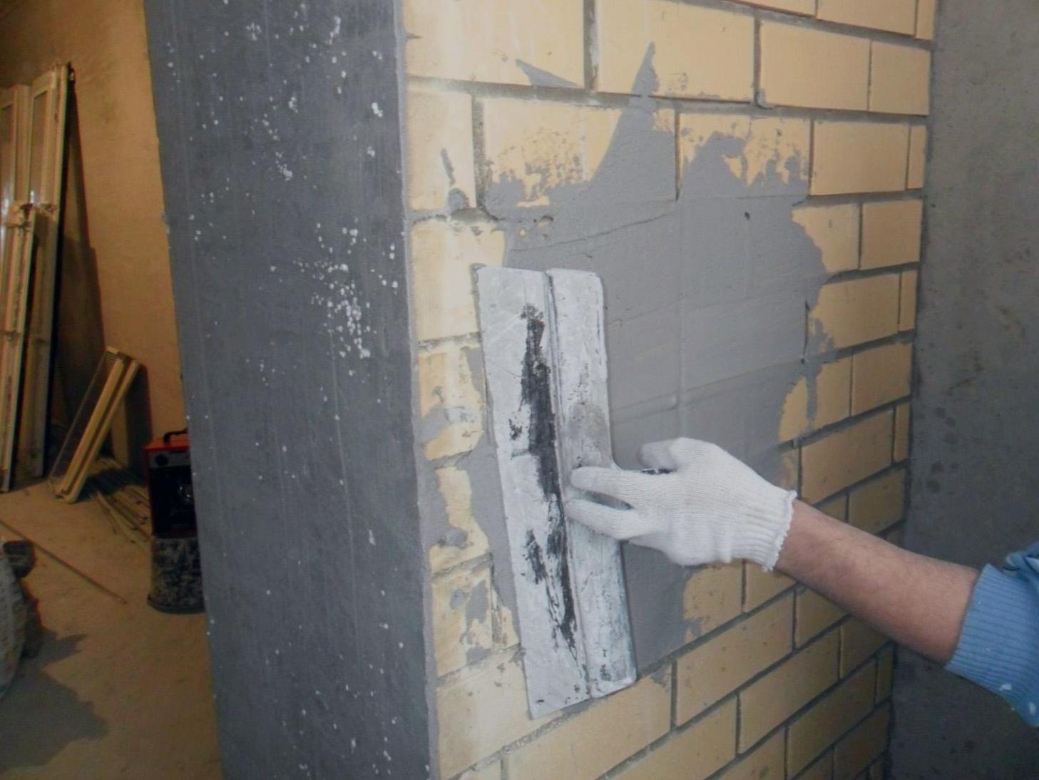 Чем покрасить штукатуренные стены в гараже 14 фотография