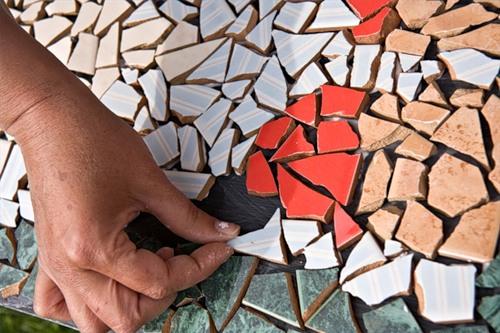 Стол из мозаики своими руками - фото и инструкция Своими 31