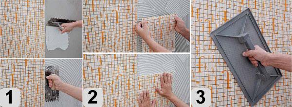 Как положить мозаику своими руками