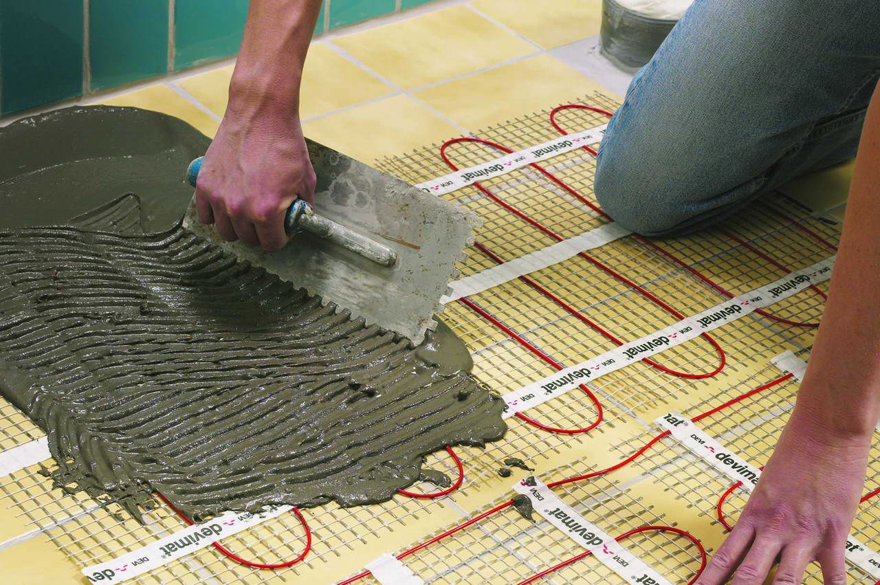 Теплый пол под плитку. инструкция по монтажу. лучший теплый .