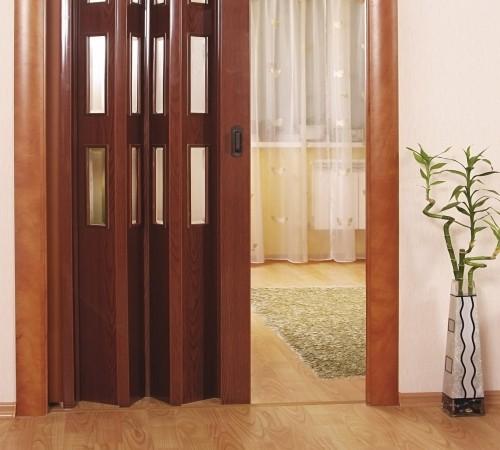 Двери межкомнатные раздвижные гармошка своими руками 37