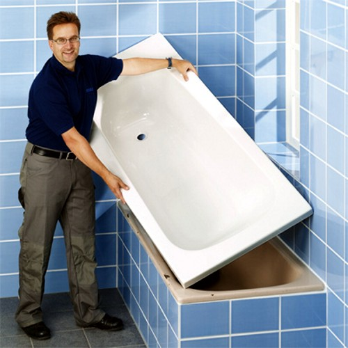 Bathroom inserts