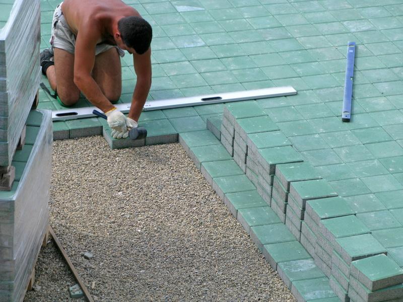 Как класть тротуарная плитка своими руками 88