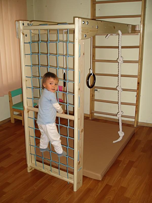 Детский комплекс в квартире своими руками 406