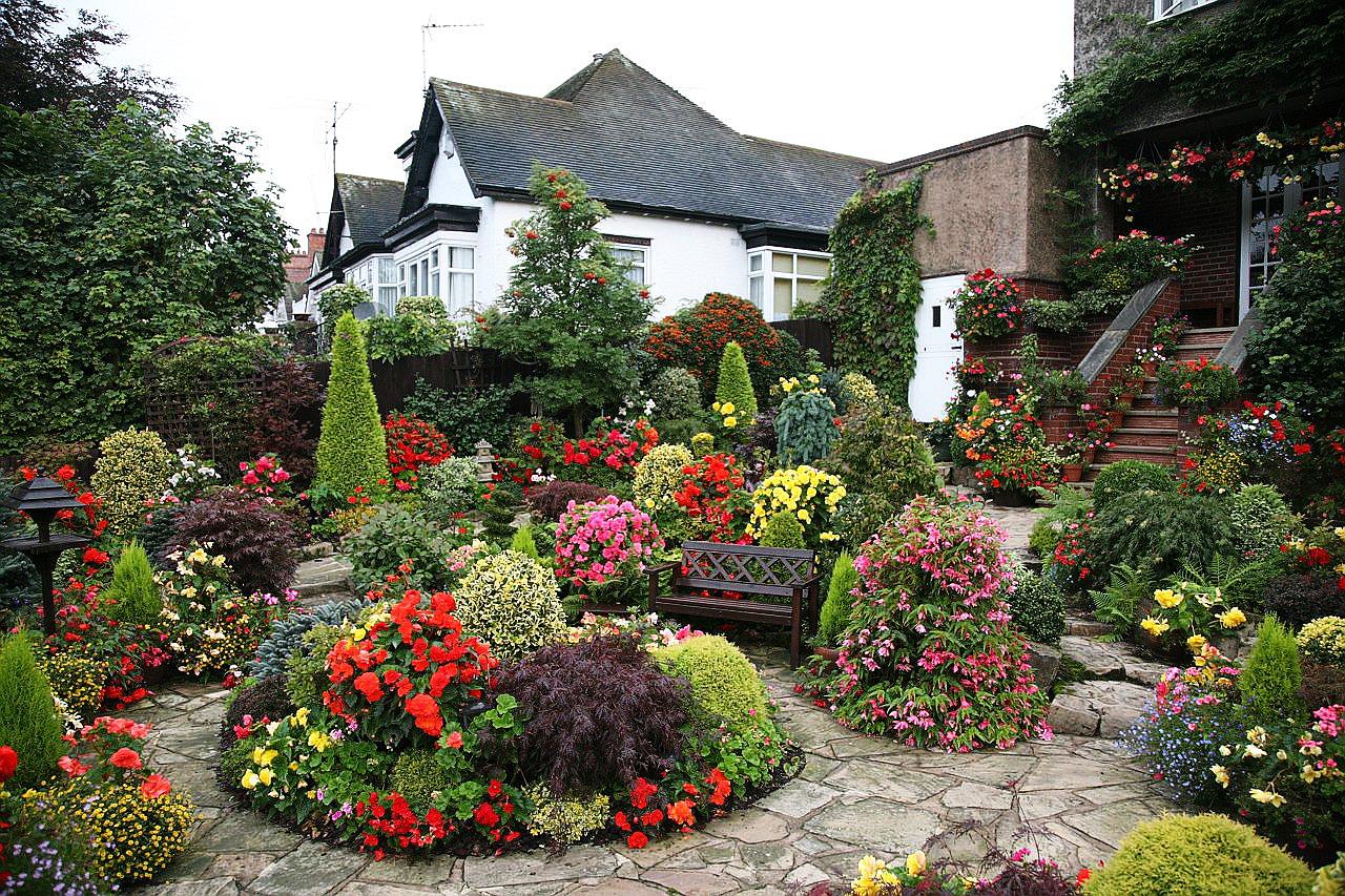 Как обустроить садовый участок своими руками фото