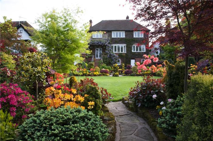 Сад в английском стиле своими руками фото