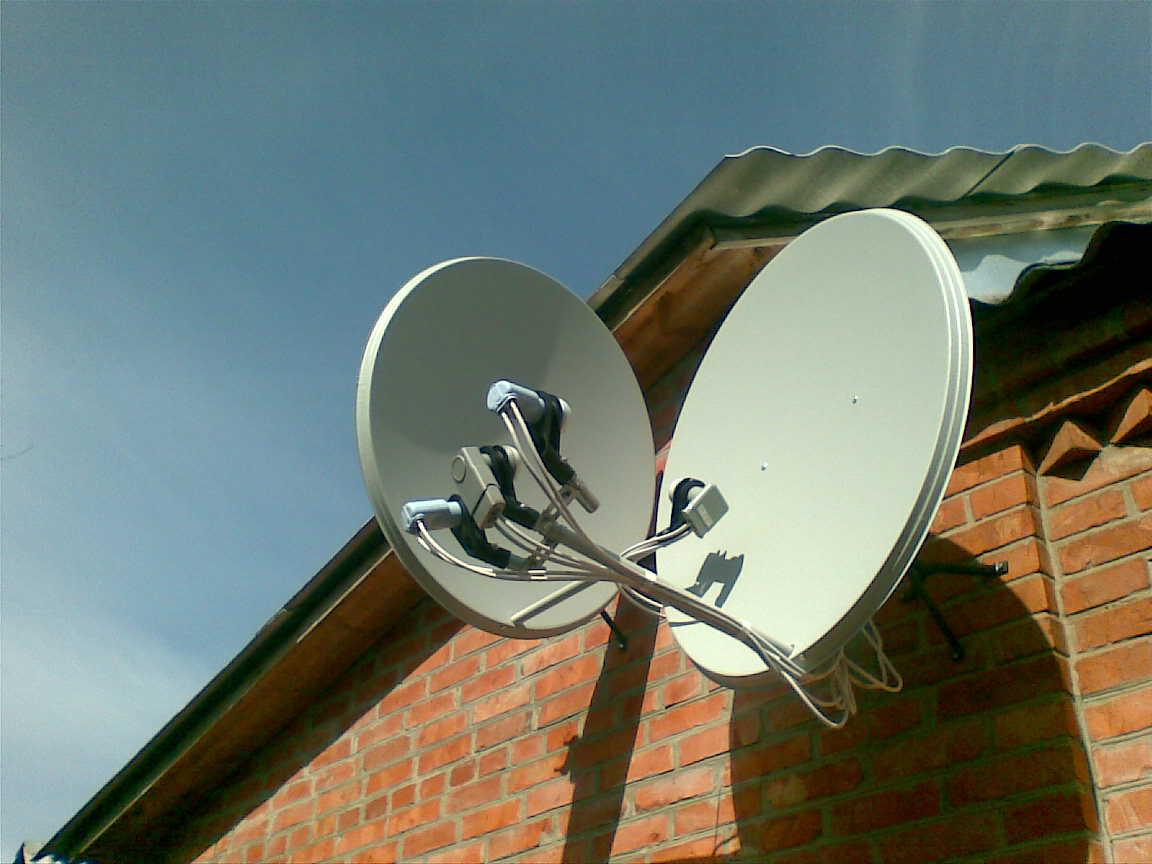 Установка спутниковой антенны в одессе своими руками