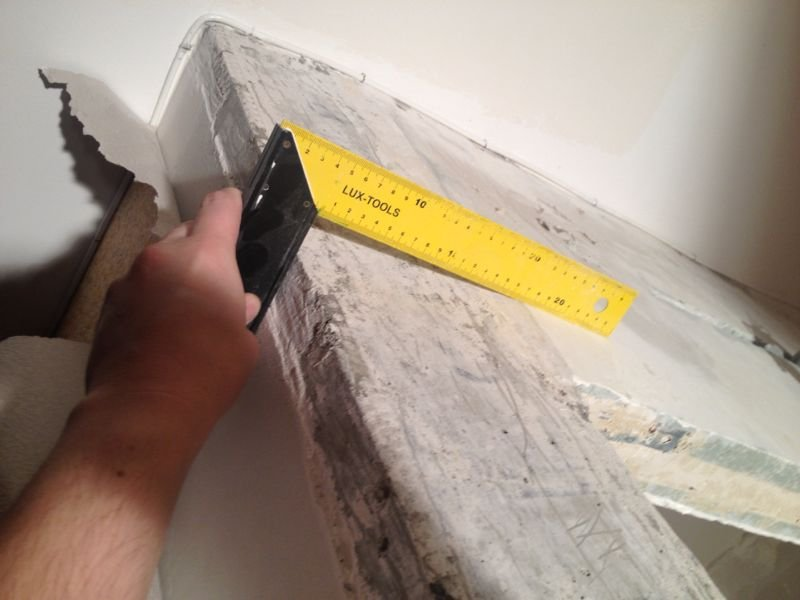 Как и чем выровнять внешний угол стены своими руками