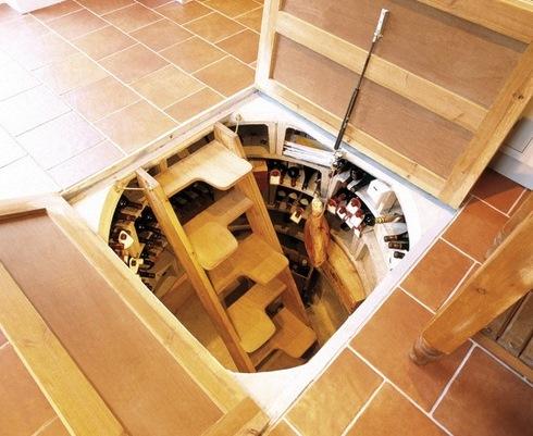 Подземный дом своими руками