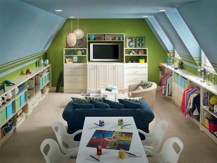 Детская комната на даче фото