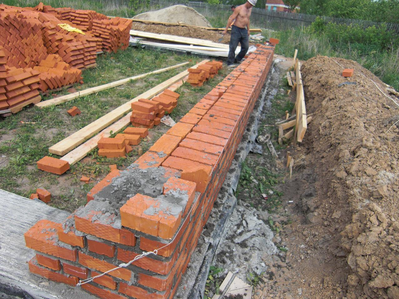 Ленточный фундамент своими руками пошаговая инструкция фото фото 494