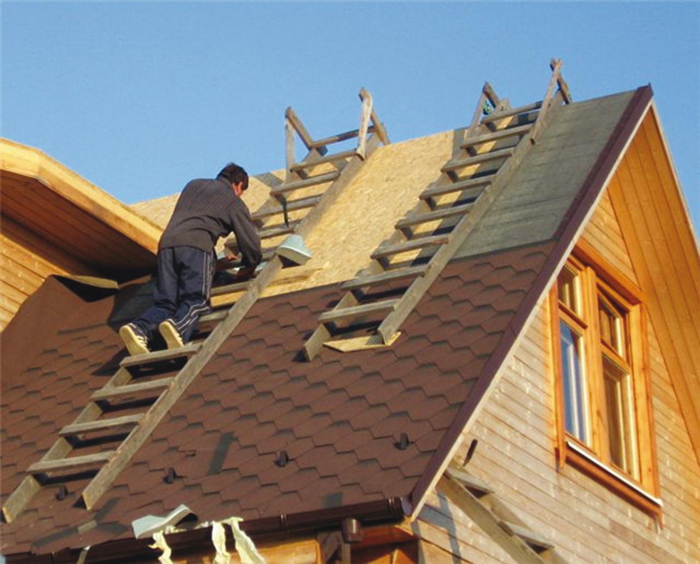 Ремонт старой крыши в деревянном доме своими руками 72