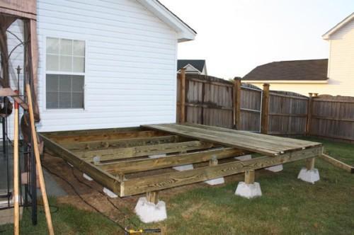 Строительство террасы своими руками фото 877