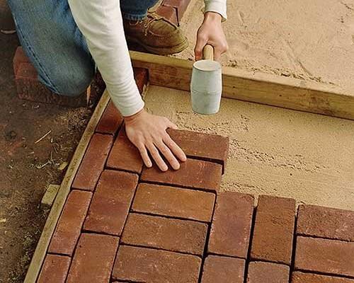 Укладка плитки в гараже своими руками