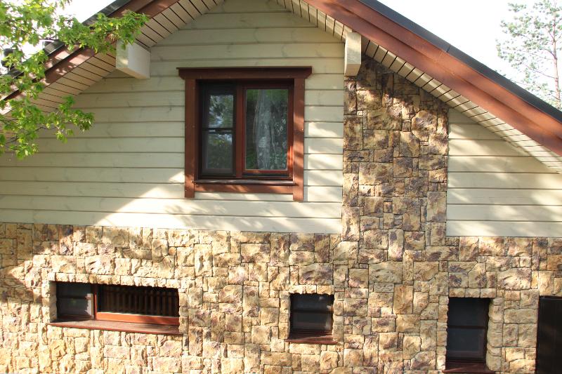 Фасадный камень для наружной отделки дома своими руками 26