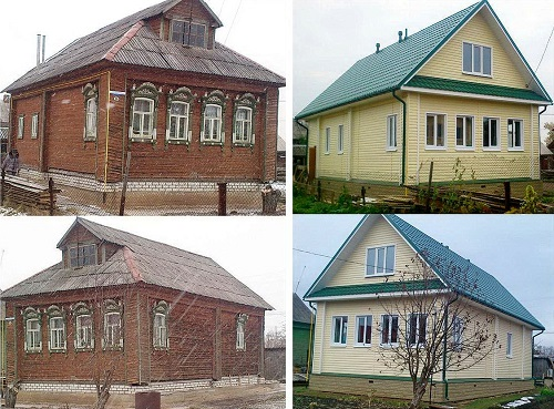 Ремонт старого дома своими руками с фото 402