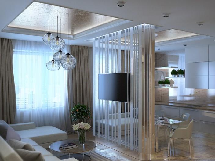 Зеркальные панели в интерьере квартиры фото