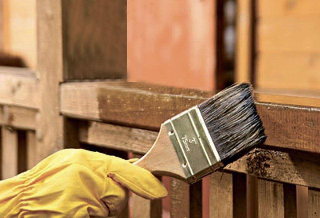 Антисептики для обработки древесины своими руками