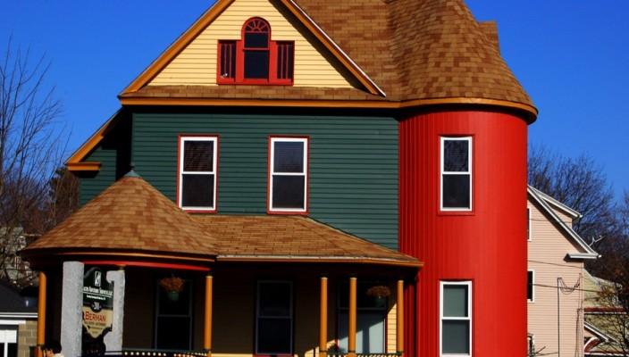 Декоративная штукатурка фасадов домов с фото