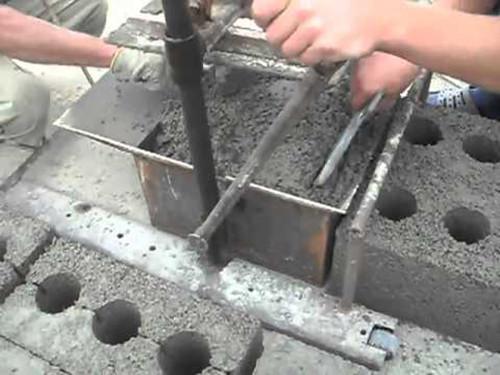 Изготовление блоков своими руками видео с чего начать
