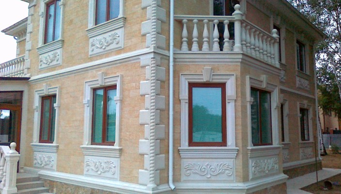 Штукатурка фасада по пенополистиролу цена